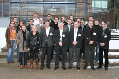 Group photo of all participants of the Kickoff meeting